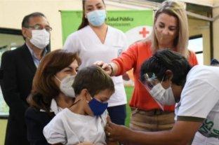 Corrientes comenzó con la campaña de vacunación en escuelas
