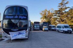 Continúa el bloqueo en la Terminal de Ómnibus de Rosario