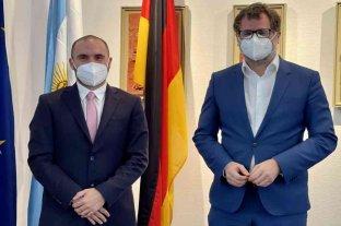 Guzmán recibió apoyo del Gobierno alemán para la recuperación macroeconómica argentina