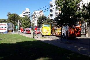 El corte en la terminal de Rosario se intensifica