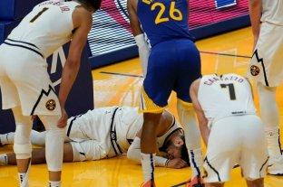 Jamal Murray será baja durante el resto de la temporada por una lesión en la rodilla izquierda