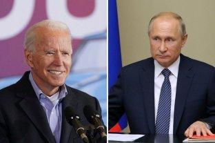 Rusia dice que va a estudiar la propuesta de Biden para realizar una cumbre con Putin