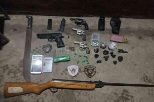 Secuestro de armas y drogas en el sur provincial