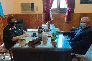 Controles y Covid: Migno visitó la Unidad Regional de Policía