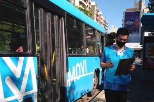 Rosario: el municipio controla que se respete la ventilación cruzada en los colectivos