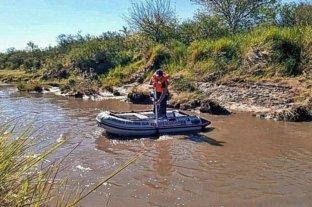 Hallaron el cuerpo de un joven que había caído a un arroyo en Entre Ríos