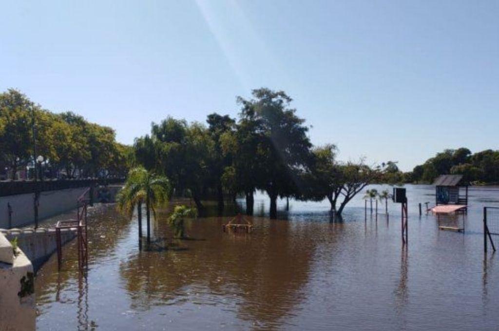 Balneario municipal de Gualeguaychú. Crédito: Gentileza