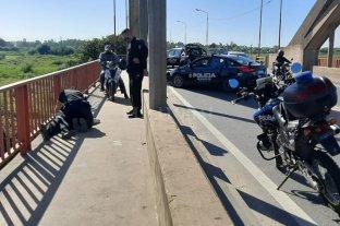 Dramático rescate en el Puente Carretero -
