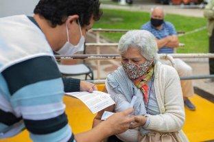 Más de 300 personas mayores de 80 años accedieron a la vacuna en Paraná sin necesidad de turnos