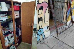 Robo y vandalismo en la Escuela N° 38 Brigadier Estanislao López