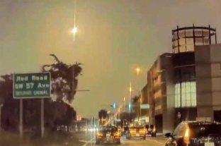 Vídeo: el sur de Florida iluminado por un meteorito
