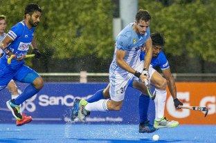 Los Leones perdieron 4-2 contra India en el último amistoso