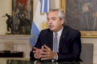 """Alberto Fernández: """"El FMI debe revisar su propio accionar y ayudarnos"""""""