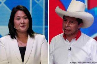 Pedro Castillo y Keiko Fujimori irán a balotaje para definir al próximo presidente de Perú