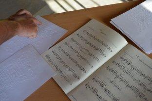 Biblioteca de Partituras en Braille: única en el país y está en el Liceo Municipal