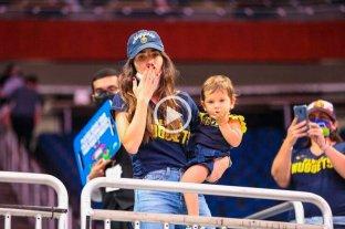 Video: la reacción de la hija de Campazzo al ver a su papá en la pantalla del estadio