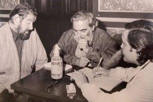 Con Hugo Gola y Edgar Bayley