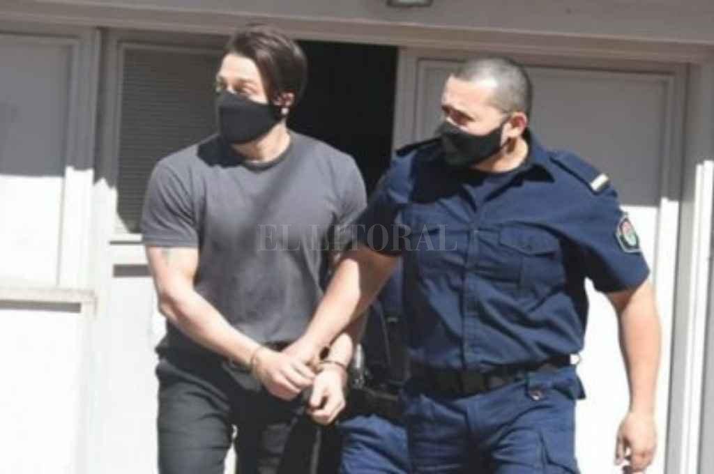 Julián Christie, acusado del femicidio de su ex novia, Julieta Riera en Abril de 2020. Crédito: Gentileza