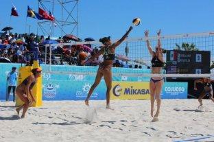 Beach vóley: dos duplas argentinas competirán en tres etapas del Tour Mundial en Cancún