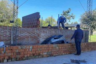 Culminan la segunda etapa de obras en los nuevos vestuarios del Polideportivo Comunal