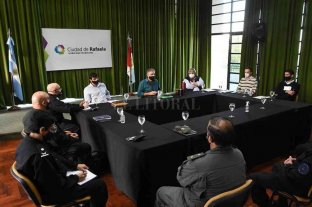 El Comando Unificado se reunió para definir acciones contra el COVID-19 en Rafaela