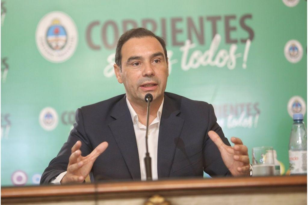 Gustavo Valdés, gobernador de Corrientes. Crédito: Prensa Gobierno de Corrientes