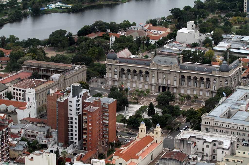 El Casco Histórico de la ciudad de Santa Fe golpeado por la inseguridad. Crédito: Manuel Alberto Fabatía