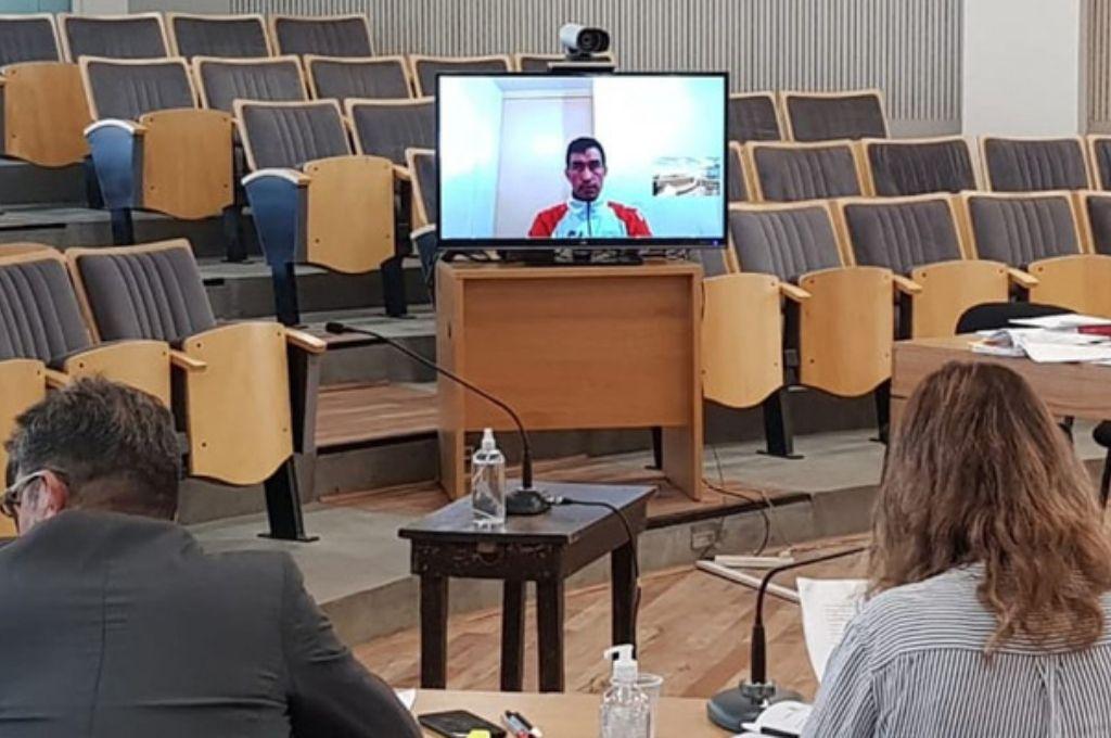 El juicio se llevó a cabo de modo virtual. Crédito: Gentileza