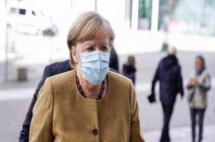 Merkel recibió este viernes la primera dosis de la vacuna AstraZeneca