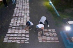 Dos correntinos fueron detenidos con más de 300 kilos de marihuana en Entre Ríos