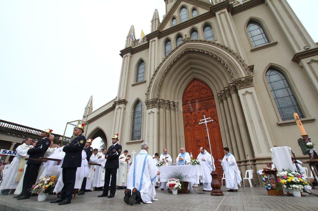 Procesión y misa central de la Fiesta de Guadalupe - 5 de mayo 2019 Crédito: Pablo Aguirre - Archivo El Litoral