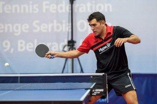 Tenis de mesa: Gastón Alto se clasificó a los Juegos Olímpicos de Tokio