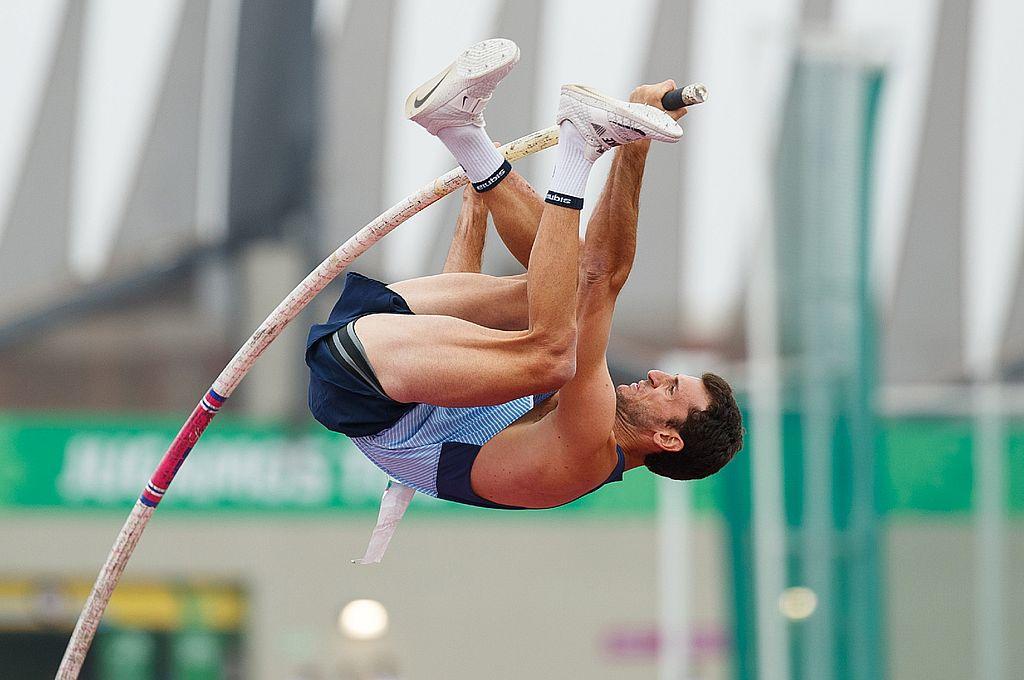 Chiaraviglio tiene como mejor marca de su carrera 5,75 metros con la que ganó la medalla de plata en los Juegos Panamericanos de Toronto, Canadá, en 2015. Crédito: Archivo
