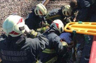 Una mujer fue atropellada por un tren e investigan si sufrió un asalto