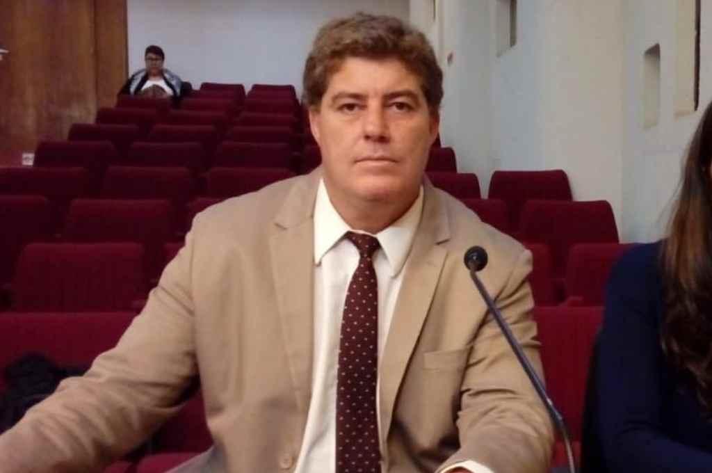 Mauro Blanco, el fiscal detenido.    Crédito: Gentileza