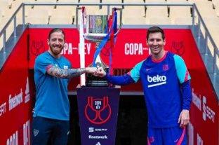 Messi quiere salvar una mala temporada: va por la Copa del Rey