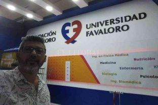 El médico venadense Alejandro Bertolotti es el nuevo Jefe de Cirugía Cardiovascular de la Fundación Favaloro