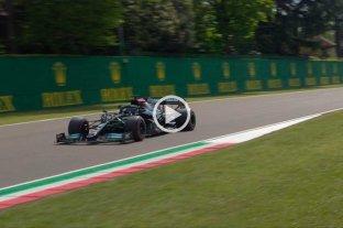 F1: Hamilton larga primero en el GP Imola