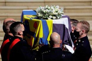 Isabel II encabezó el funeral de Felipe de Edimburgo