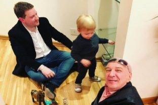 Jonatan Viale recordó a Mauro, su papá