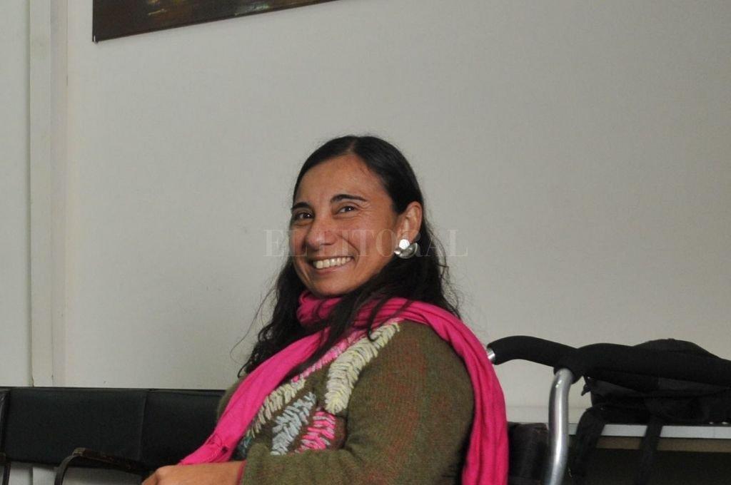 Gabriela Bruno, subdirectora de Accesibilidad y Derechos de las Personas con Discapacidad. Crédito: El Litoral