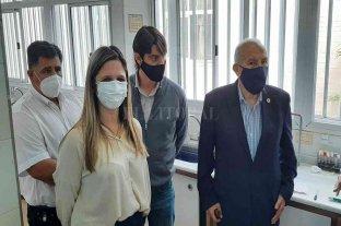 Bertossi y Kaufmann recorrieron el hospital de Helvecia