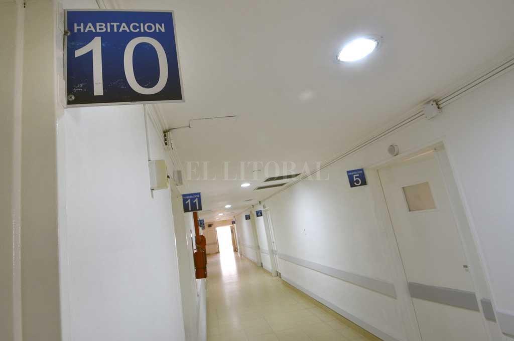 El viejo hospital Iturraspe fue reacondicionado por la pandemia Crédito: Pablo Aguirre