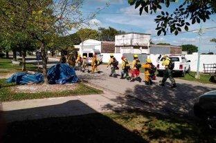 Capacitaron a Bomberos de la Regional 4ta. en San Agustín