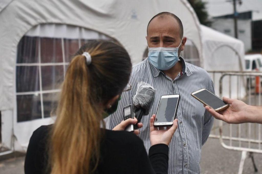 César Pauloni, director municipal de Salud Crédito: Gentileza