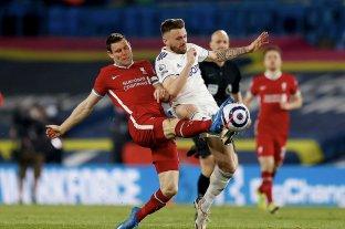 Leeds de Bielsa empató sobre el final con Liverpool