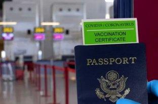 La OMS se manifestó contraria al pasaporte verde para realizar viajes internacionales