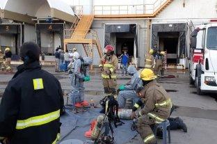 Friar agradeció la acción solidaria de quienes ayudaron a sofocar el incendio