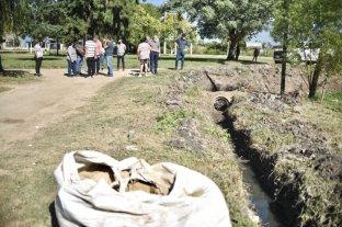 En Alto Verde, el municipio comenzó obras hídricas solicitadas por los vecinos