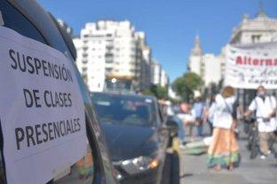"""Nuevo paro docente en CABA contra la """"insistencia del gobierno porteño en mantener escuelas abiertas"""""""
